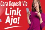 deposit judi online via link aja